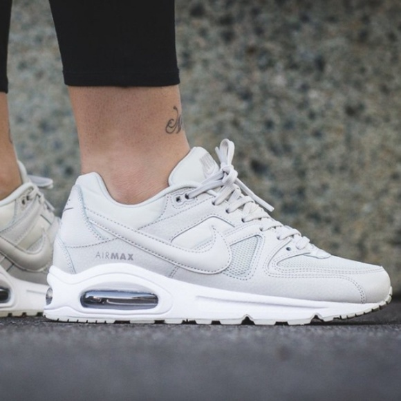 premium selection 5af17 e6a97 Nike Women s Air Max Command Light Bone White